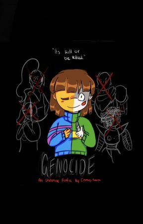Genocide (Undertale Fanfiction) - Chapter Five: Snowdin, Last Room