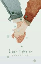 I won't give up by JheyBlack