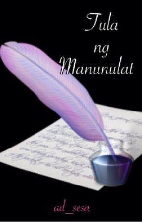 TULA NG MANUNULAT  by ad_sesa
