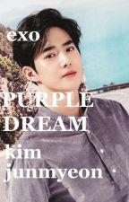 purple dream ❀ kim junmyeon ✔ by _Jin_88