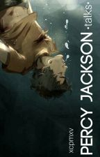 Percy Jackson [talks] by xcpmxv