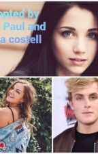 Adopted by Jake Paul and Erika Costell by Bepsie_