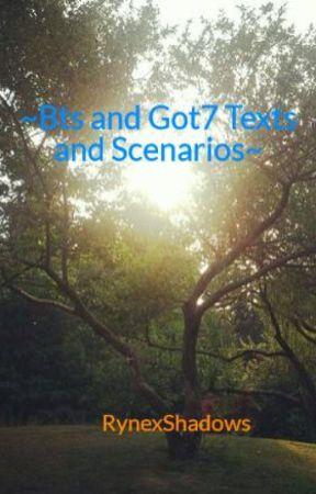 Bts and Got7 Texts and Scenarios~ - Birthday Party  Got7 Scenario