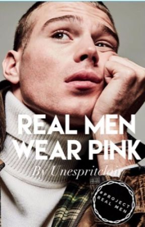 Real Men Wear PINK by unespritclair