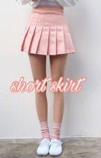 short skirt ☾y.m☽ by plzyoongiplz