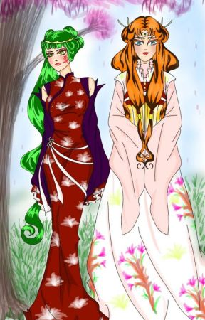The Legend of the Dragon Princess by serena12195