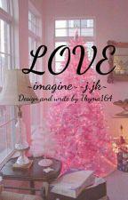 "«imagine» YÊU «JJK» ""H"" by thyma164"