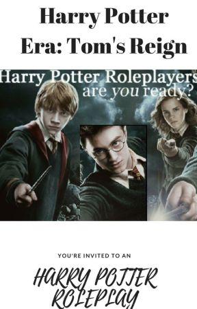 Harry Potter Era Roleplay: Tom\'s Reign - OC Templates - Wattpad