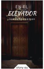 El hombre en el elevador   Stony by CapitxnSaturno