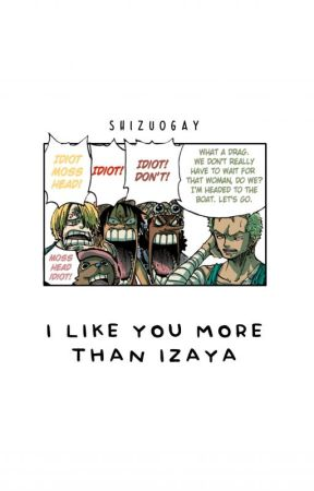 i like you more than izaya. by shizuogay