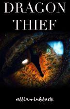Dragon Thief - Ladrona de dragones by alliuminblack
