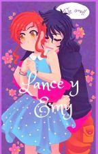 lance y emi  by BetsyCornielesCornie