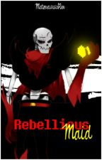 Rebellious Maid [Underfell Papyrus x Lectora] by MatosaurusRex