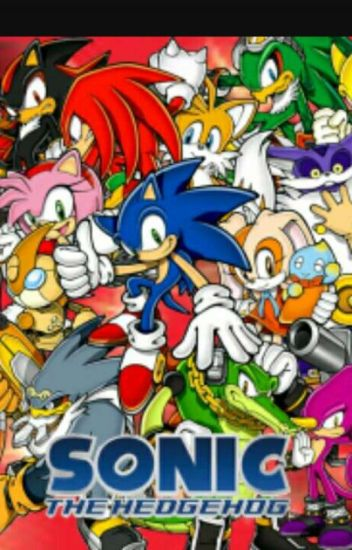 sonic characters theme song kristgyona monsees wattpad