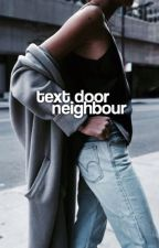 TEXT DOOR NEIGHBOUR.  by nazemkadri