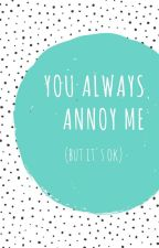 pjm-jjk |  you always annoy me (but it's ok) by bambimilk