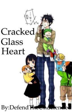Cracked Glass Heart by DefendTheUndefended