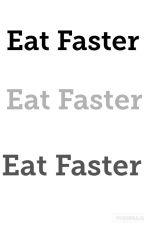 Eat faster by TheOneMeepless