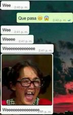 Whatsapp and Messenger [Screenshot]  by fuckxdik
