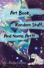 Art Book by StickyCarpet