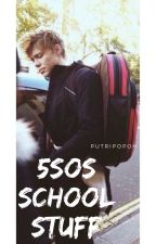 5SOS SCHOOL STUFF | Ashton by putripopoh