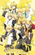 ( Kagamine RinLen ) RinLen project DIVA story  by -_Yumine-chan03_-