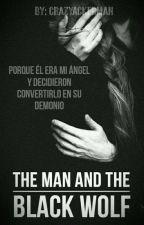 The Man & The Black Wolf by LittlePandemonium