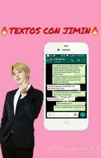 Textos con Jimin +18 //Park Jimin Y Tú  by dreamsonyeondan
