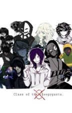 [ Creepypasta / yaoi ] Class of the creepypasta. by _Hann_7