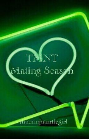 TMNT x Reader Imagines // Mating Season  - Leonardo Mating Season