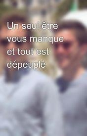 Image De Citation Citation Une Personne Vous Manque Et Tout Est Depeuple