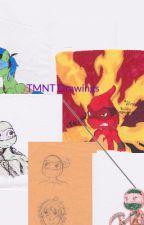 TMNT Drawings by sonic155