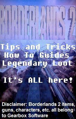 Borderlands 2 Handbook - Legendary Loot! 1: The Infinity