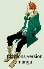 Citations version manga by young-otaku