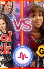The school bad girls vs the schools bad boys by racetrackgirl02