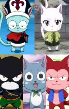 Fairy Tail Happy And Carla An Exceed Story by Fastflame5000