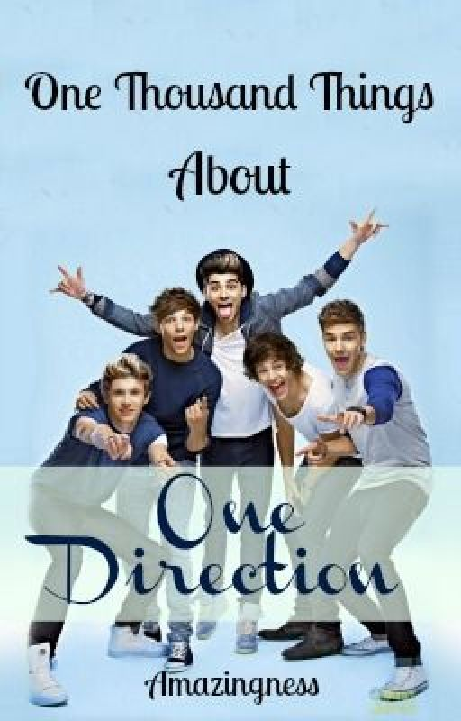 A Thousand Things About One Direction by amazingness