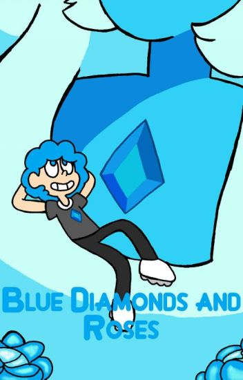 Blue Diamonds and Roses