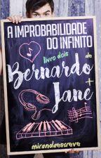 A improbabilidade do infinito de Bernardo e Jane by mirandaescreve