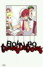 Boku no Translation [BNHA] [Traducciones]  by --Shea