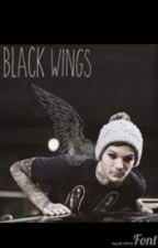 Black wings ( larry stylinson angel au punk louis) by featherwind_5633