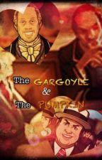 The Gargoyle & The Pumpkin by absinthestorm