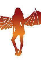 Ágata, Amaia; ángel y demonio by azlizstark10