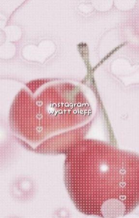 instagram ( wyatt oleff. ) by evilkth
