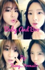 Baby and boo by Taeny162