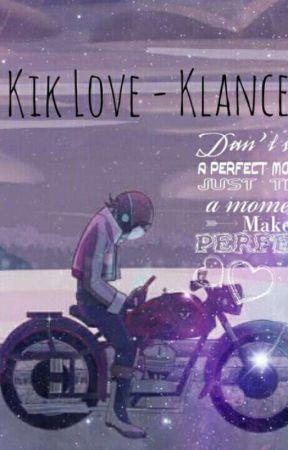 Kik love - Klance by The_Mom_Friend