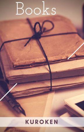 Books || Kuroken by ArrowsFox