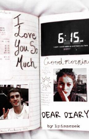 dear diary // a. griezmann by lpiszczek