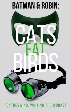Batman and Robin: Cats Eat Birds - D.W | by writingtheworks