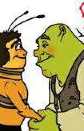 Shrek X Barry by zjebanafangirlerena
